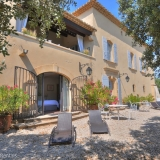 Outside view of the house - by the Olive trees