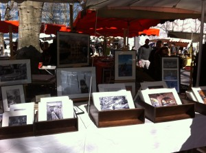 There were a couple of new booths with beautiful photos for sale.
